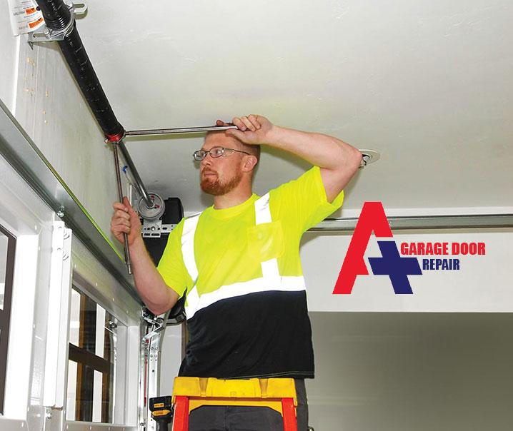 Garage Door Spring Repair Burr Ridge, A Plus Garage Door Repair